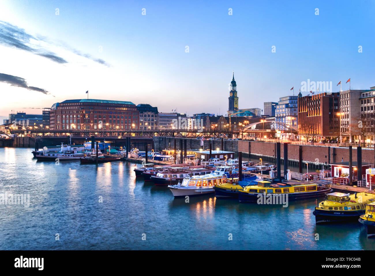 Hamburg, Germany - Stock Image