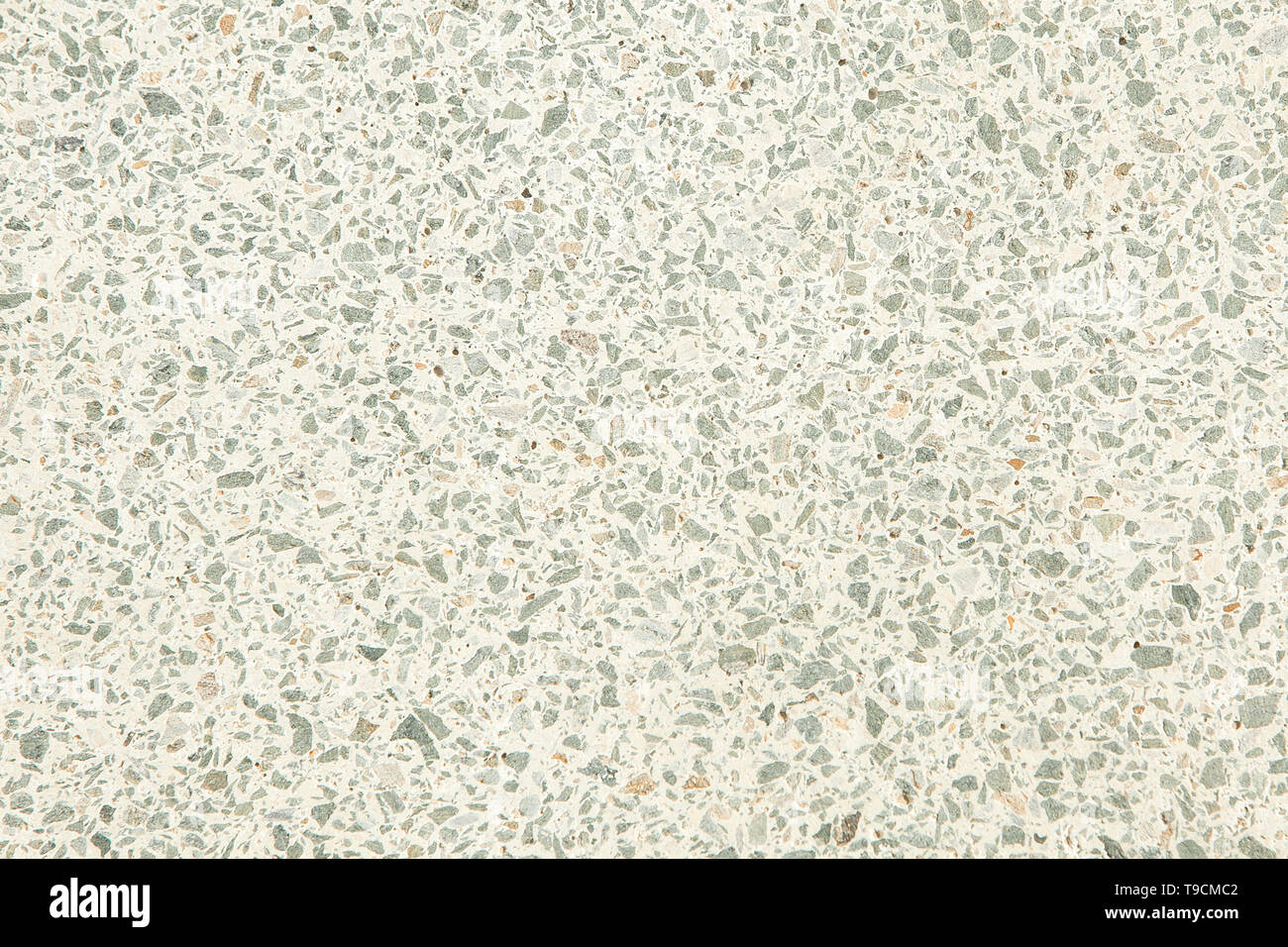 terrazzo floor old texture or polished stone for background. - Stock Image
