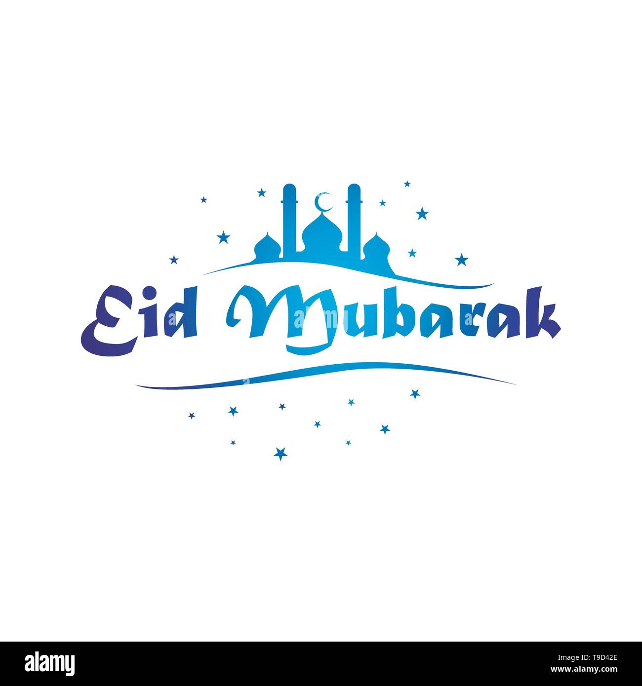 Eid Mubarak Calligraphy High Resolution Stock Photography And Images Alamy