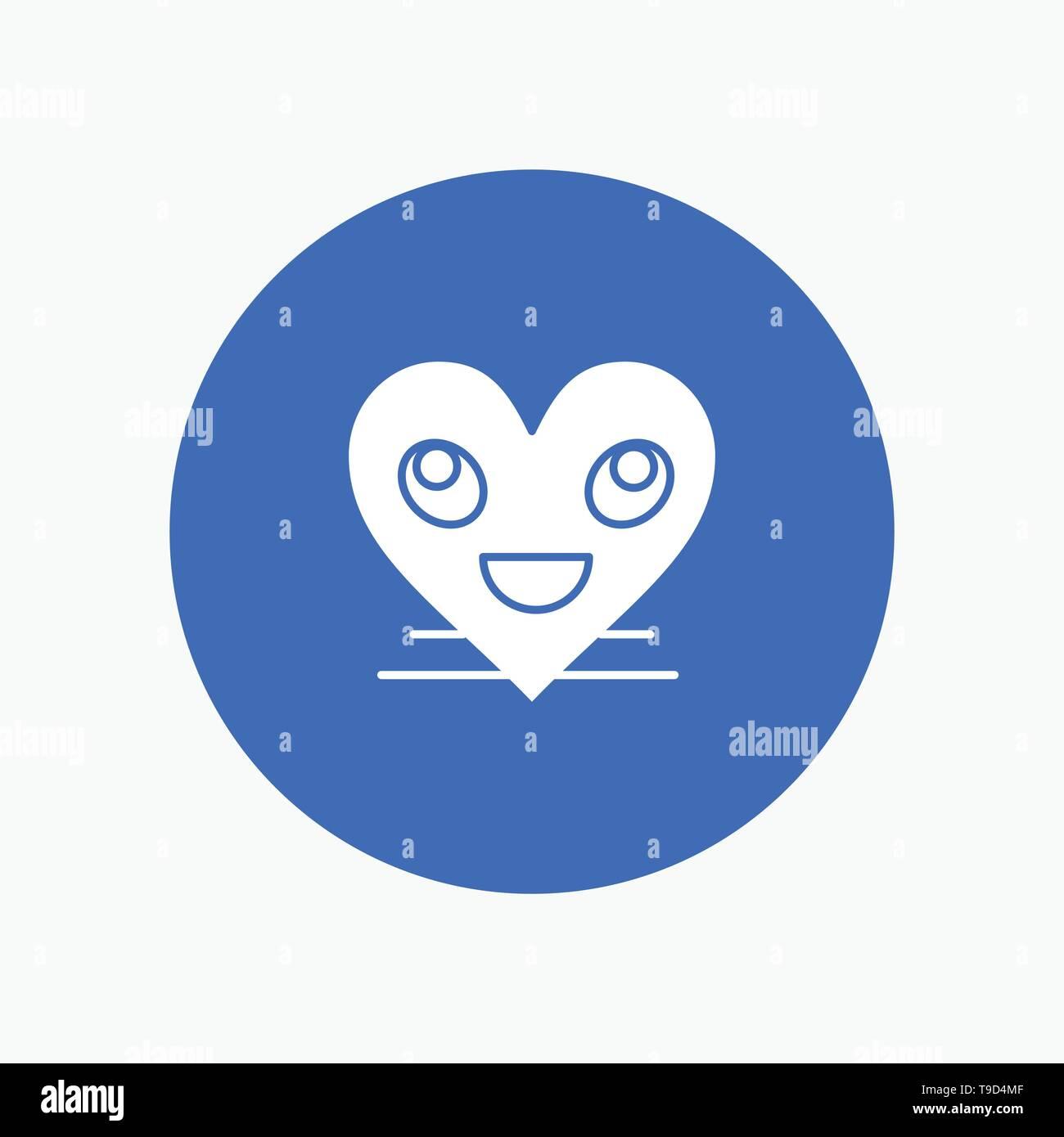 Heart, Emojis, Smiley, Face, Smile Stock Vector Art & Illustration
