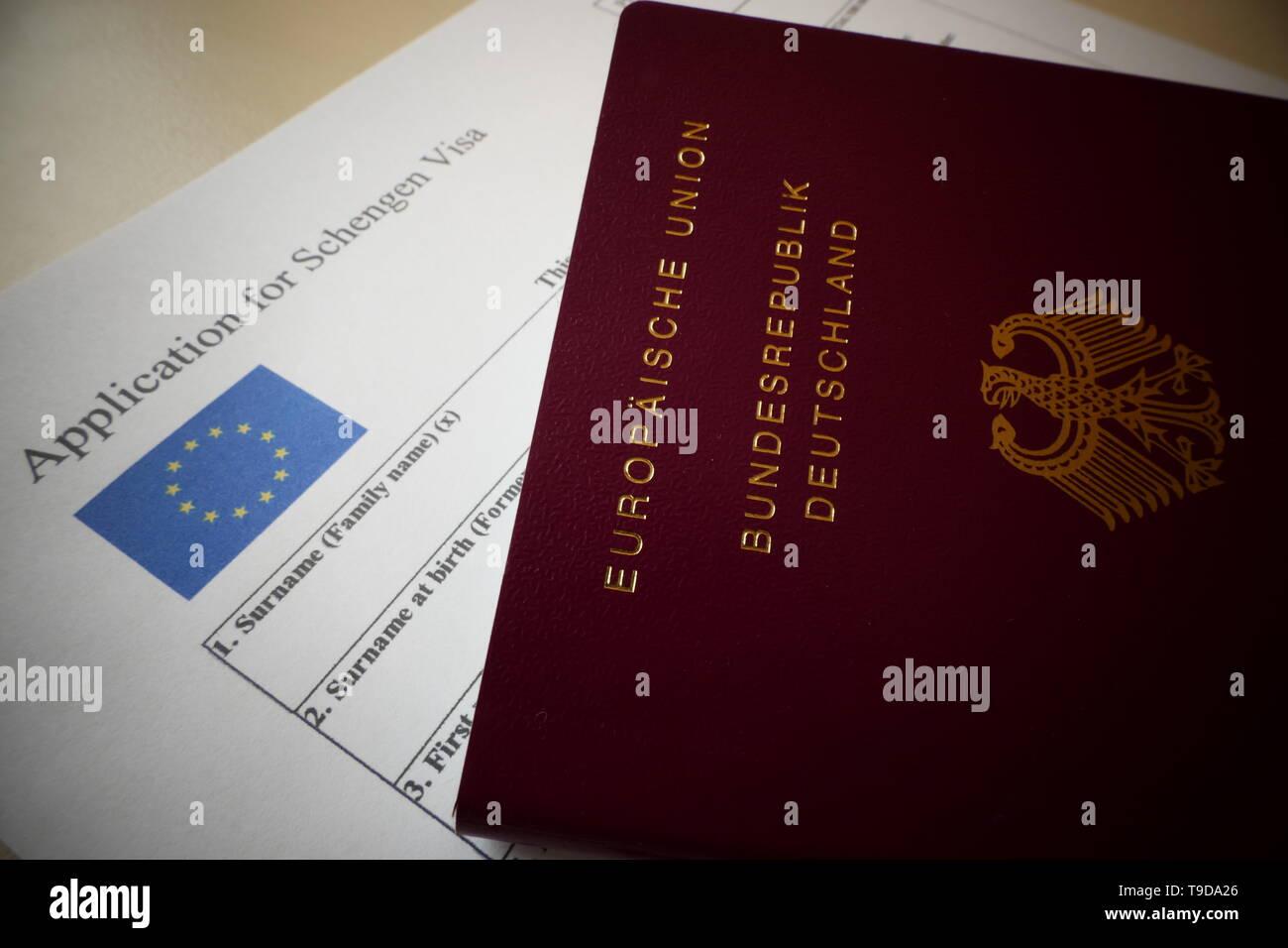 Deutschland visum schengen Schengen