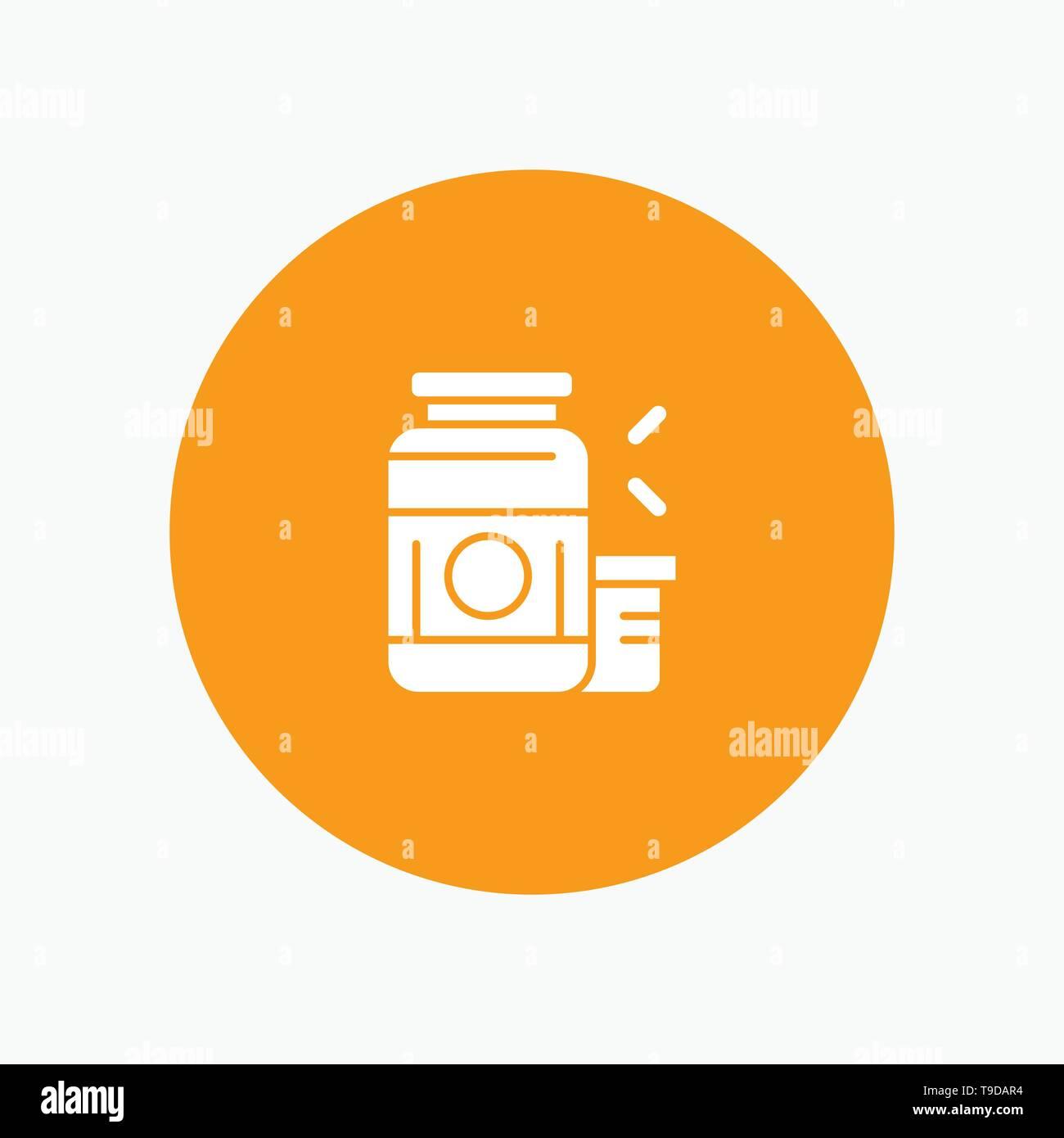 Bodybuilding, Gainer, Protein, Sports, Supplement - Stock Image