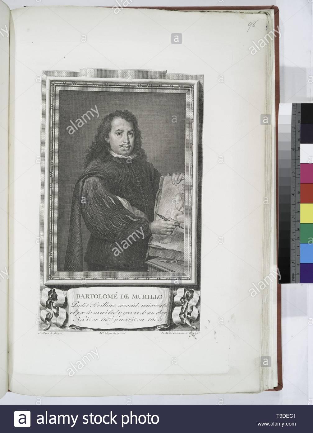 Maea,José(1759-1826)-Bartolomé de Murillo - Stock Image