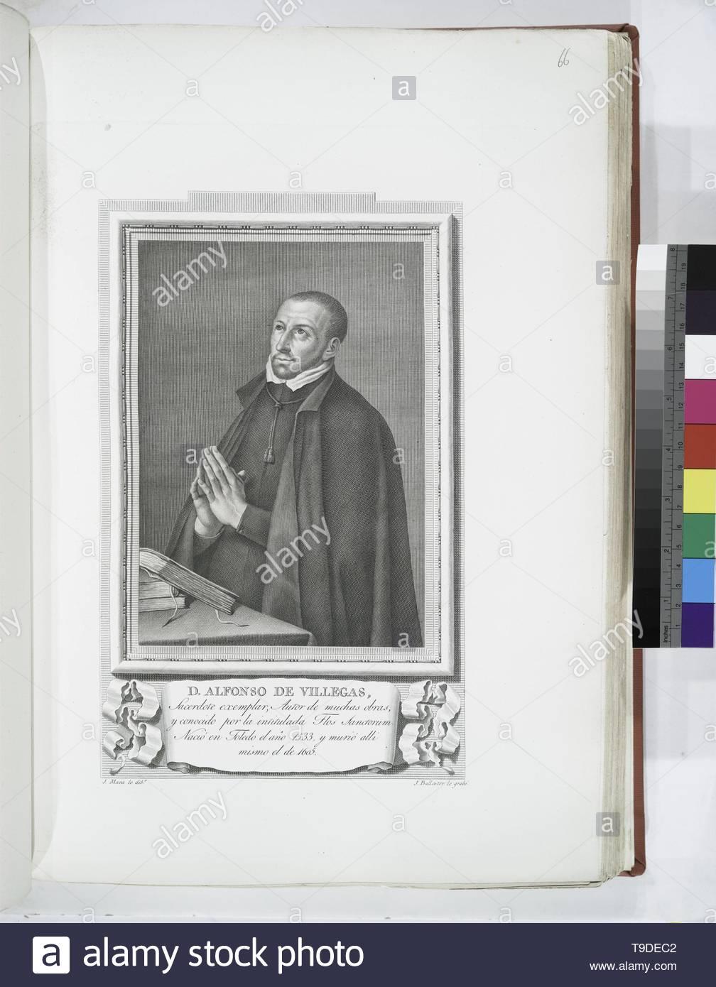 Maea,José(1759-1826)-D  Alfonso de Villegas - Stock Image