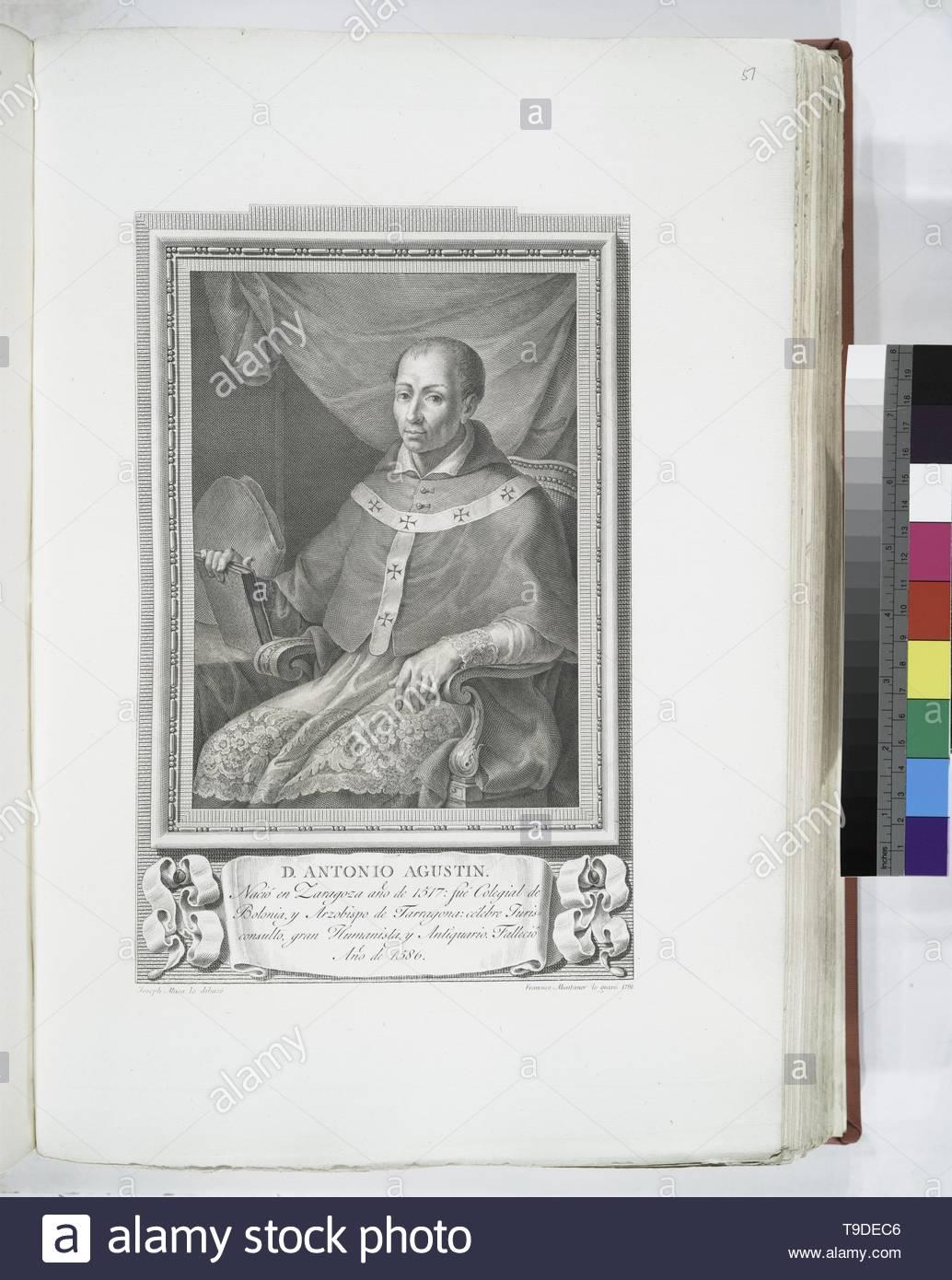 Maea,José(1759-1826)-D  Antonio Agustin - Stock Image