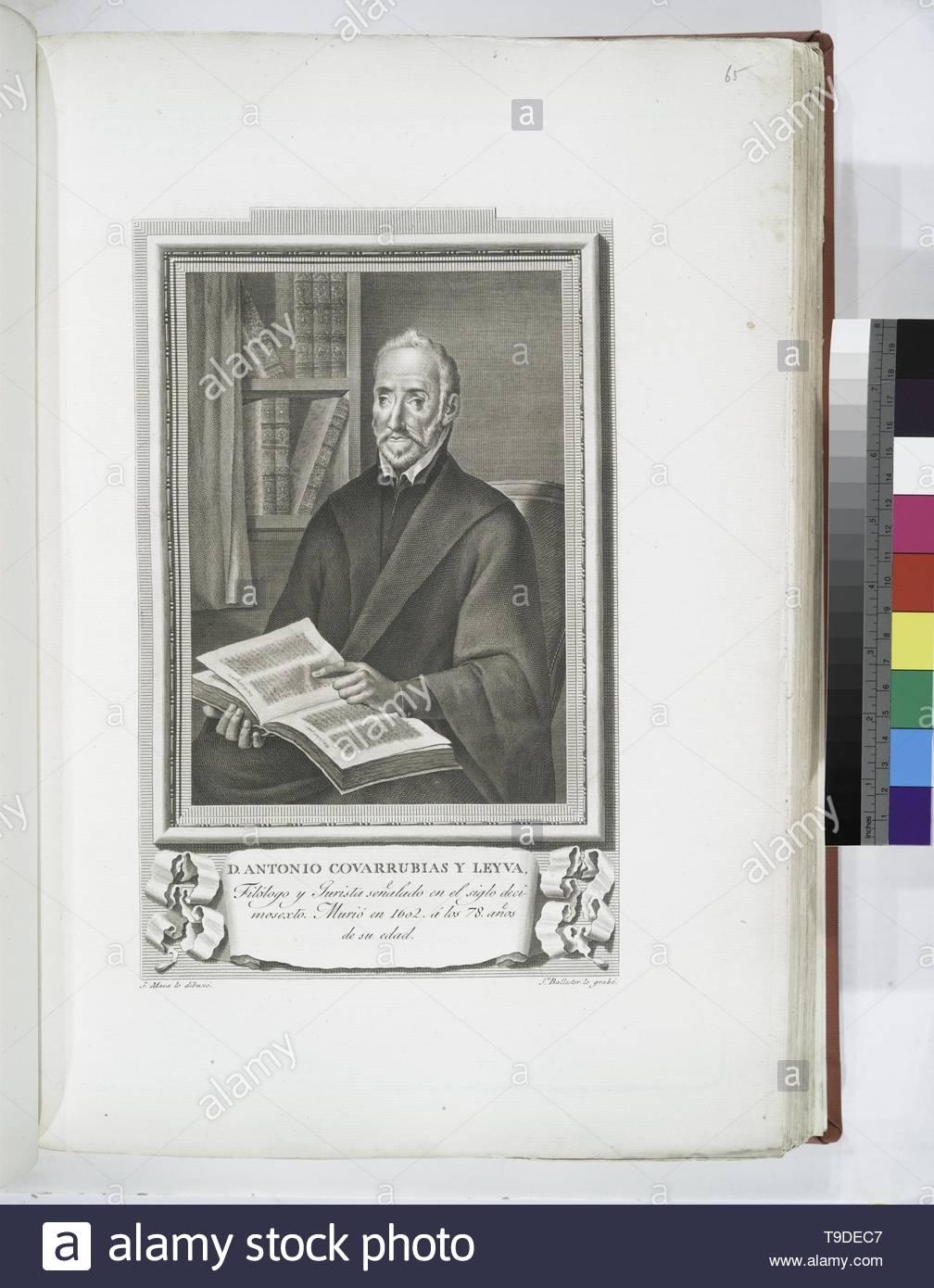 Maea,José(1759-1826)-D  Antonio Covarrubias y Leyva - Stock Image