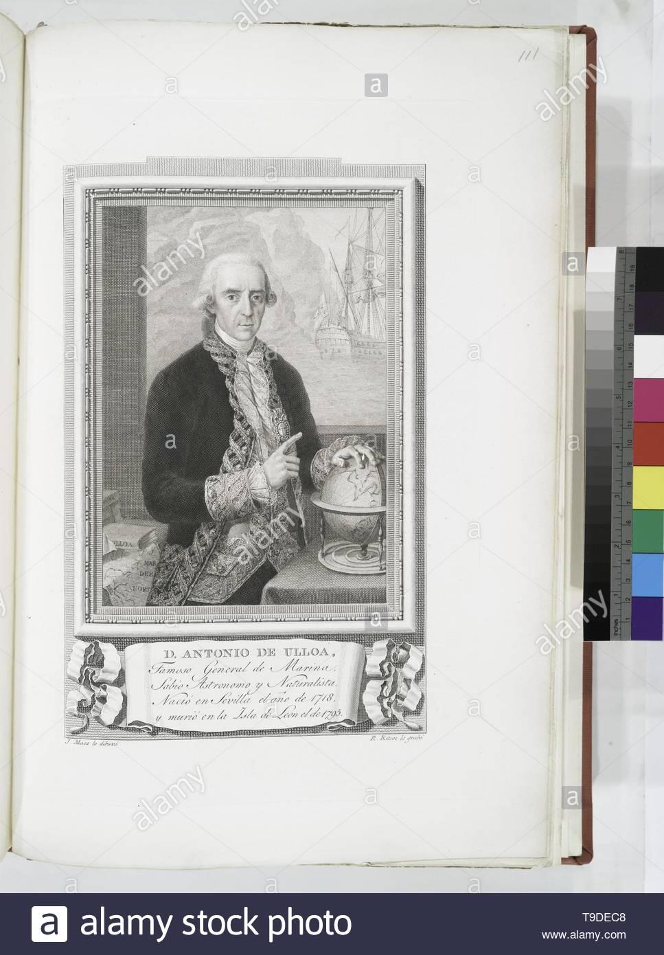 Maea,José(1759-1826)-D  Antonio de Ulloa - Stock Image