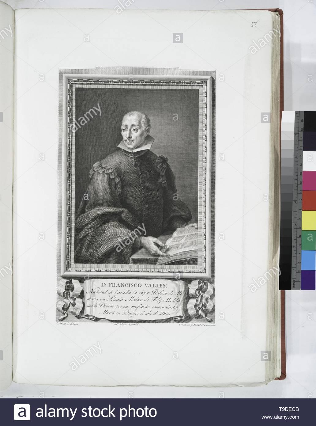 Maea,José(1759-1826)-D  Francisco Valles - Stock Image