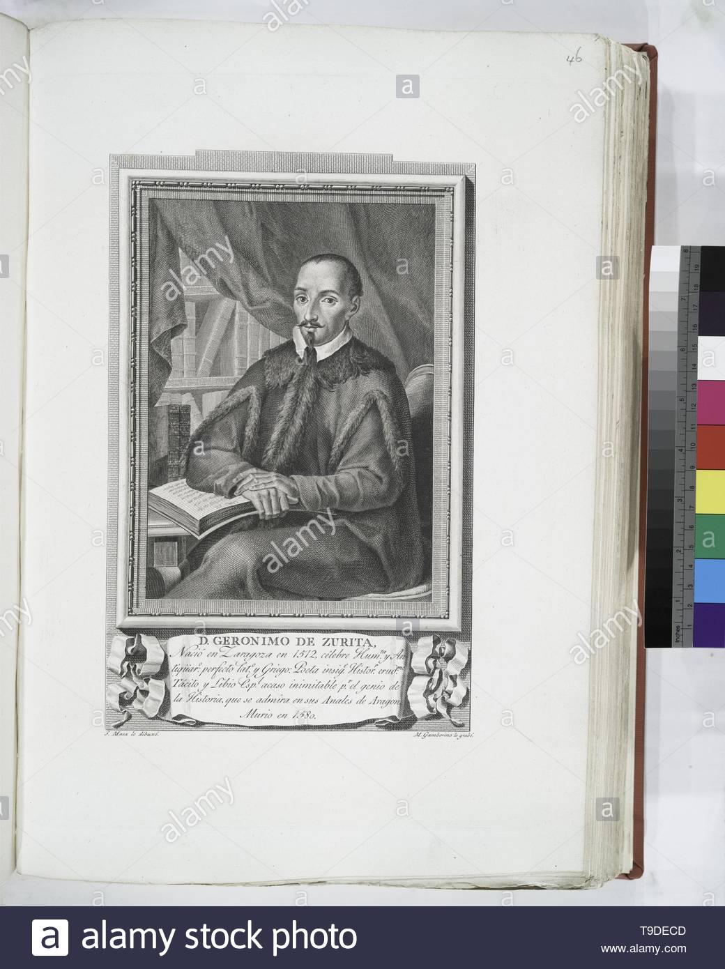 Maea,José(1759-1826)-D  Geronimo de Zurita - Stock Image