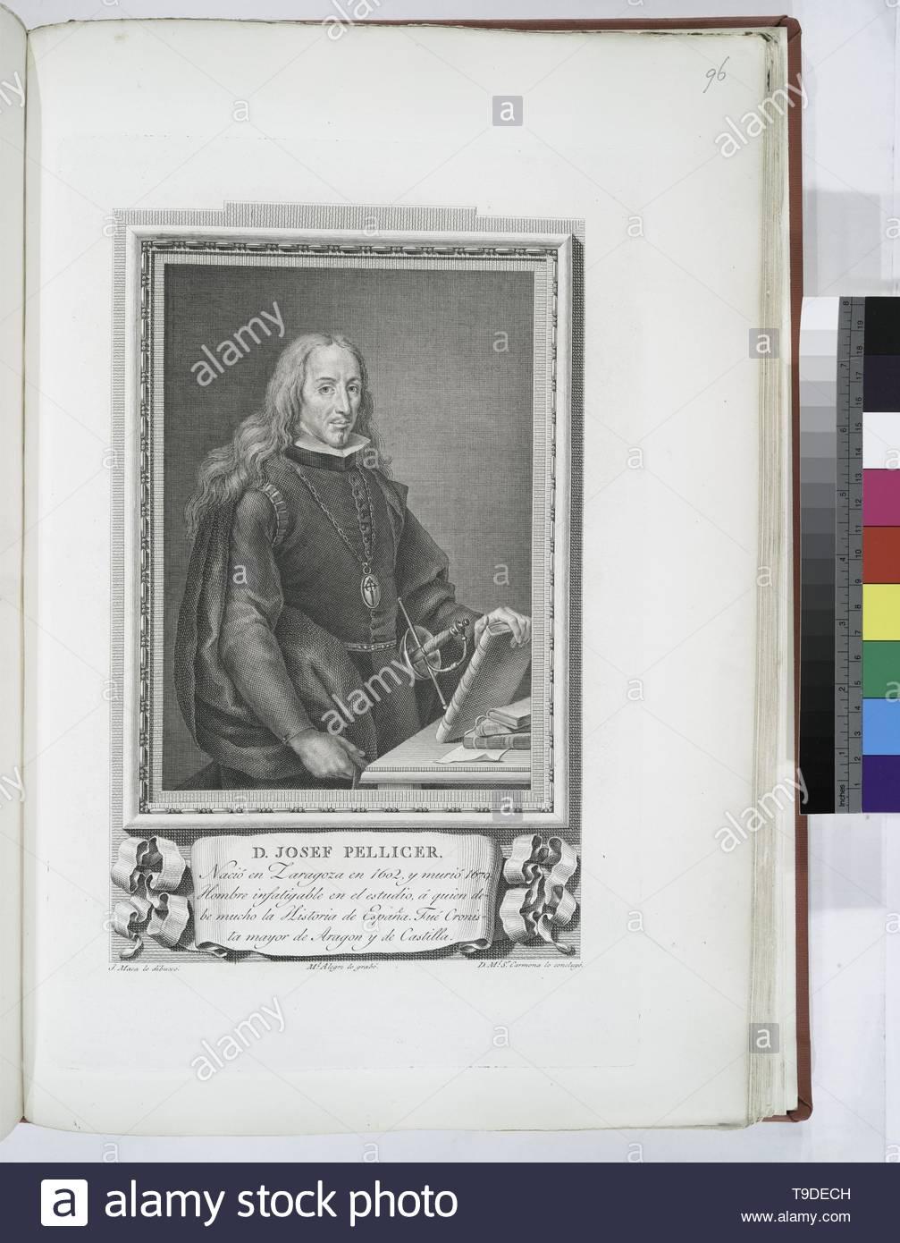 Maea,José(1759-1826)-D  Josef Pellicer - Stock Image