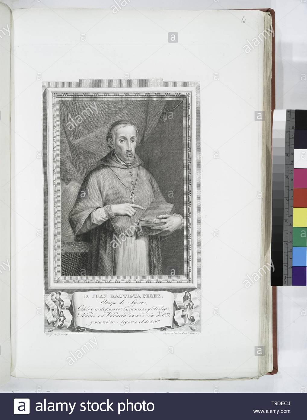 Maea,José(1759-1826)-D  Juan Bautista Perez - Stock Image