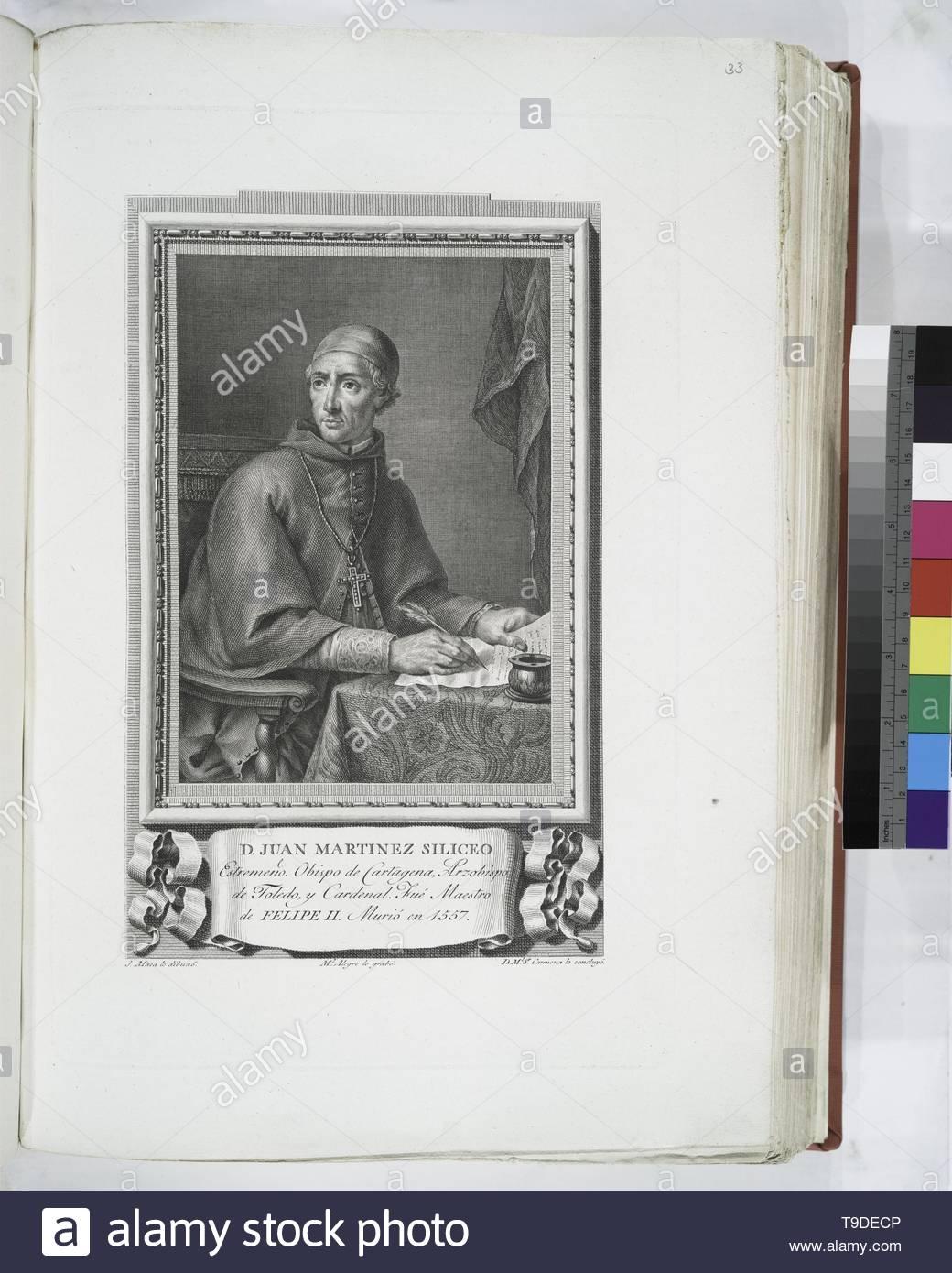 Maea,José(1759-1826)-D  Juan Martinez Siliceo - Stock Image