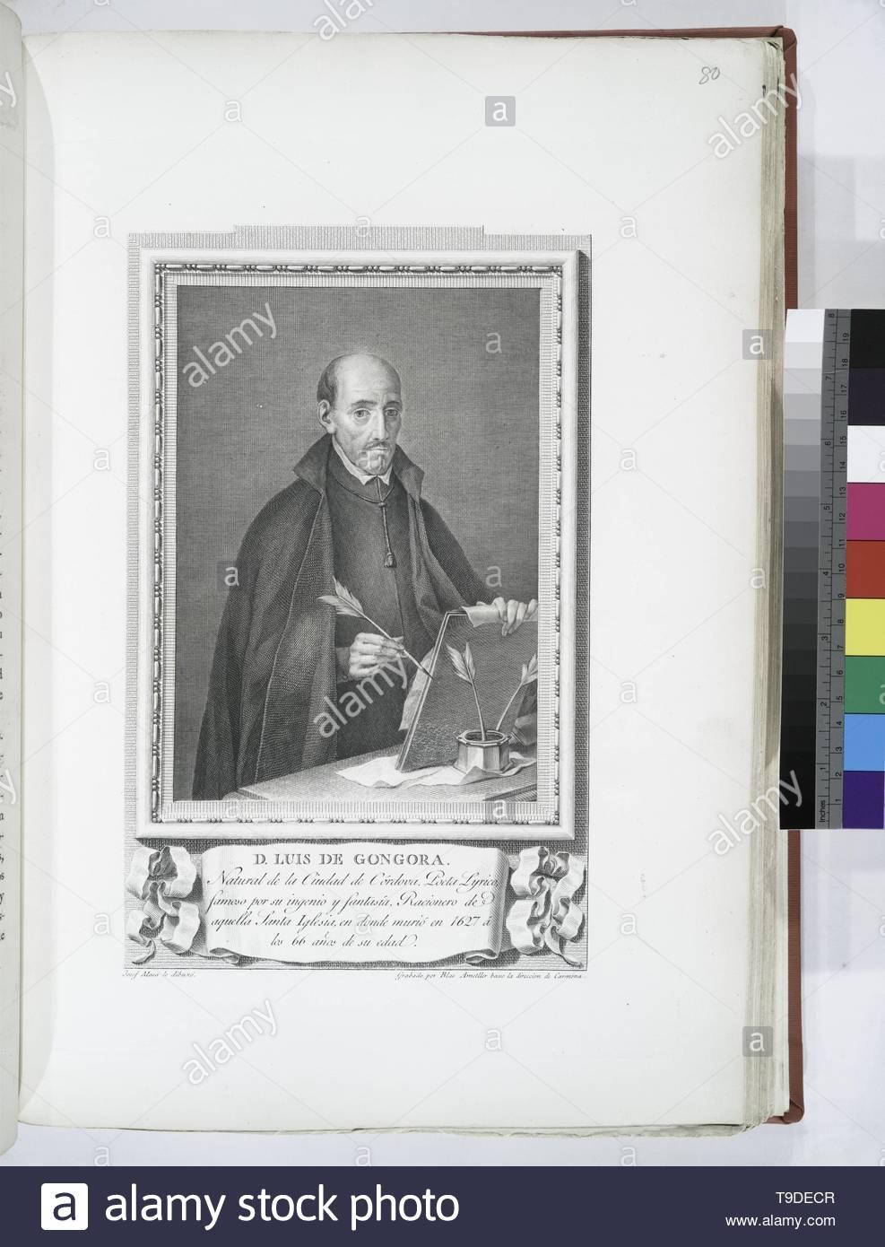Maea,José(1759-1826)-D  Luis de Góngora - Stock Image