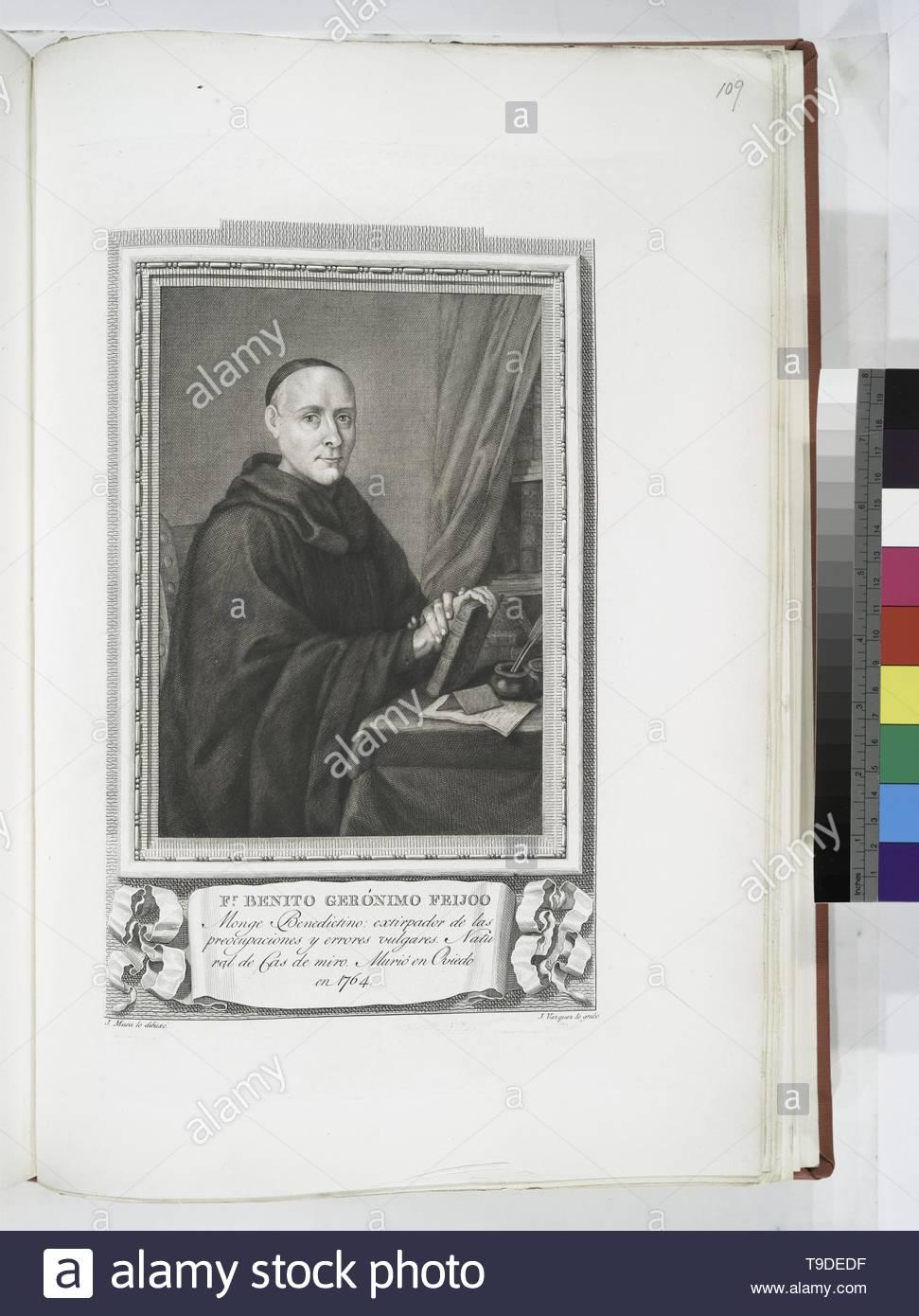 Maea,José(1759-1826)-Fr  Benito Gerónimo Feijoo - Stock Image