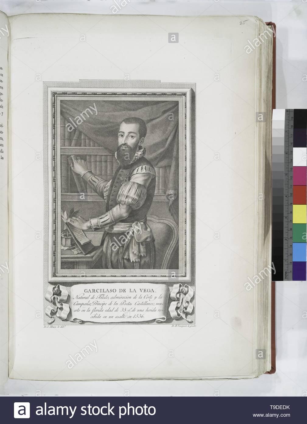 Maea,José(1759-1826)-Garcilaso de la Vega - Stock Image