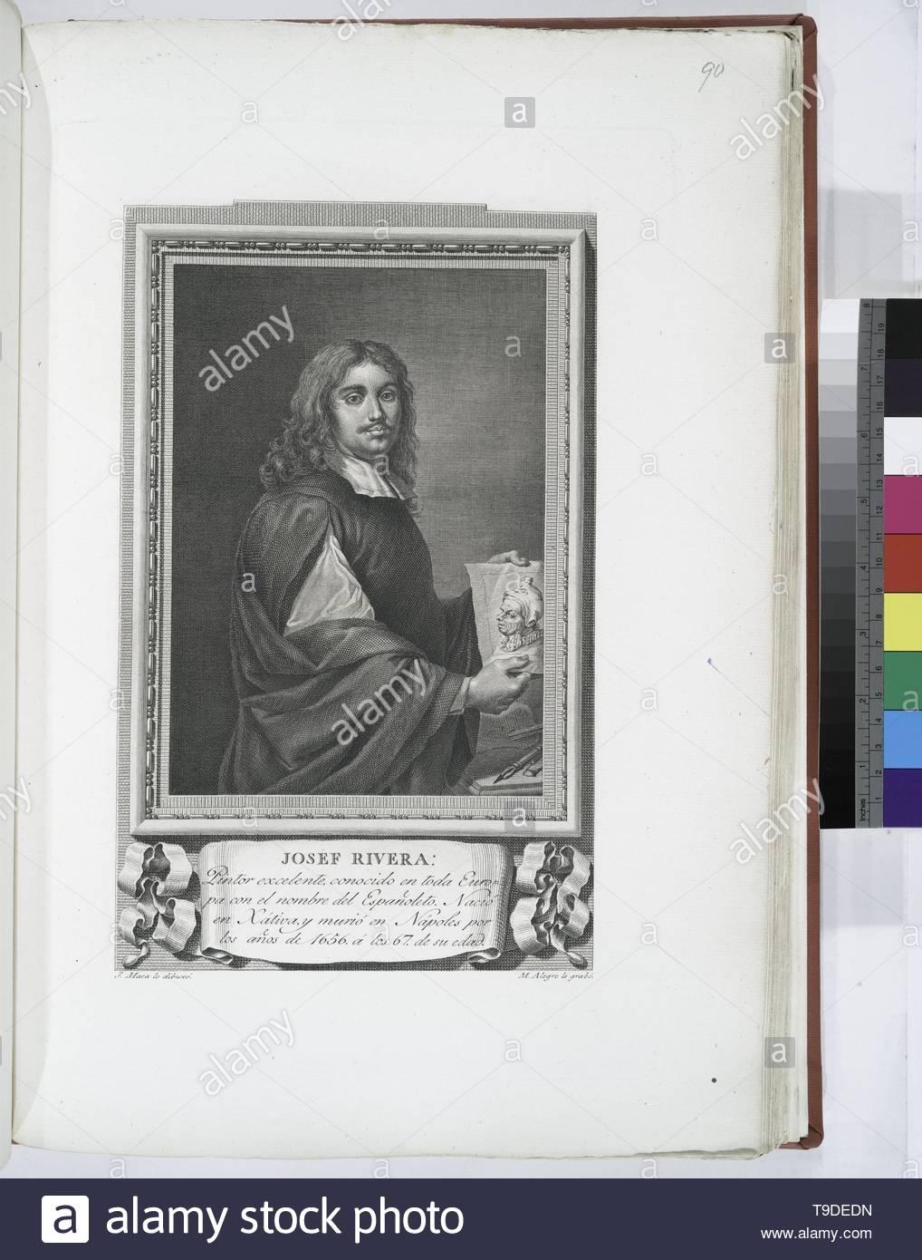 Maea,José(1759-1826)-Josef Rivera - Stock Image