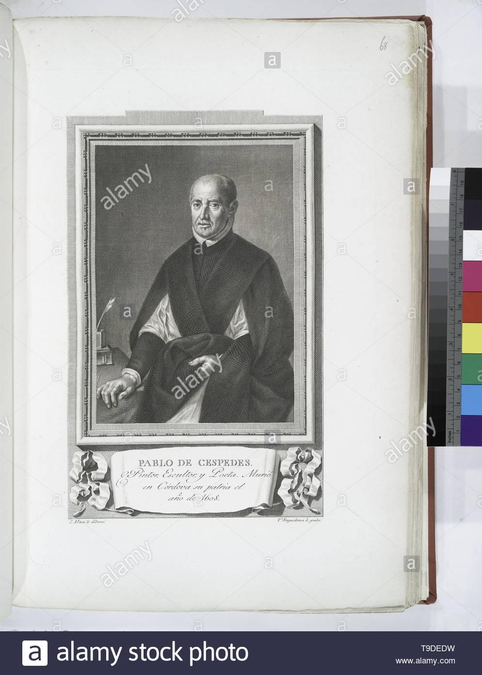 Maea,José(1759-1826)-Pablo de Céspedes - Stock Image