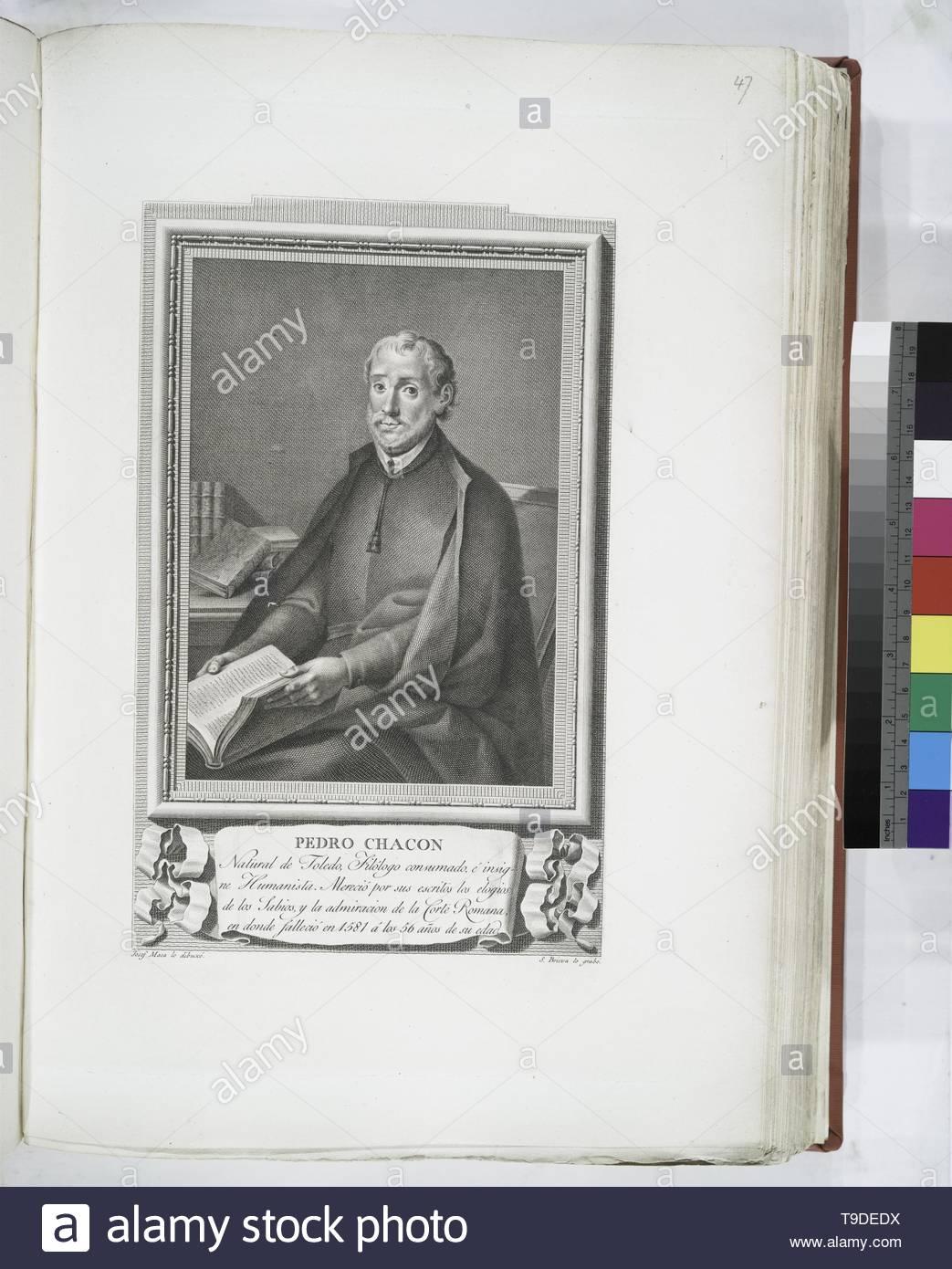Maea,José(1759-1826)-Pedro Chacon - Stock Image