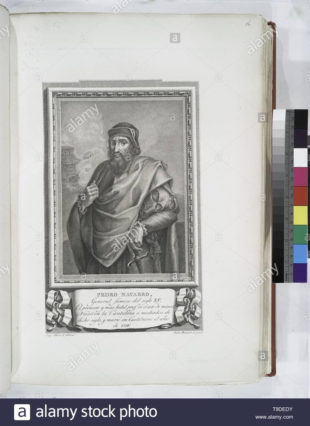 Maea,José(1759-1826)-Pedro Navarro - Stock Image