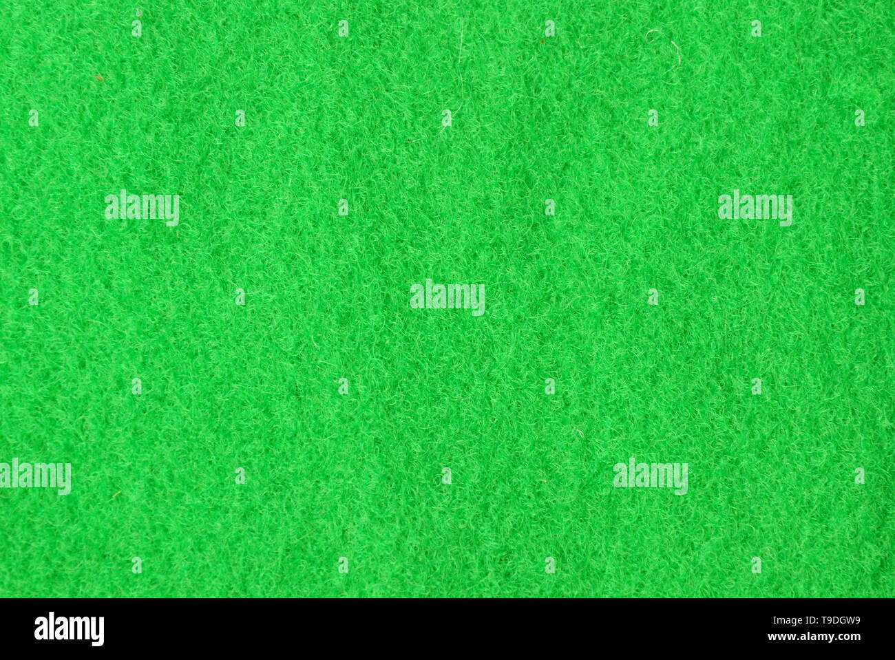 green scourer synthetic sheet texture and background - Stock Image