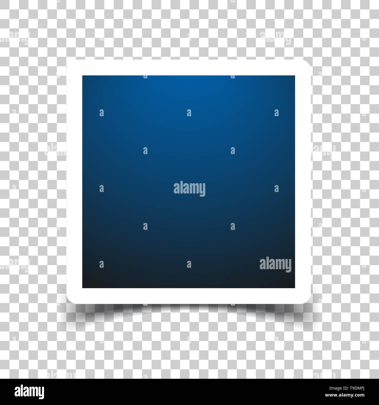 Photo frame sign icon in transparent style. Snapshot picture vector illustration on isolated background. Photography banner business concept. - Stock Image
