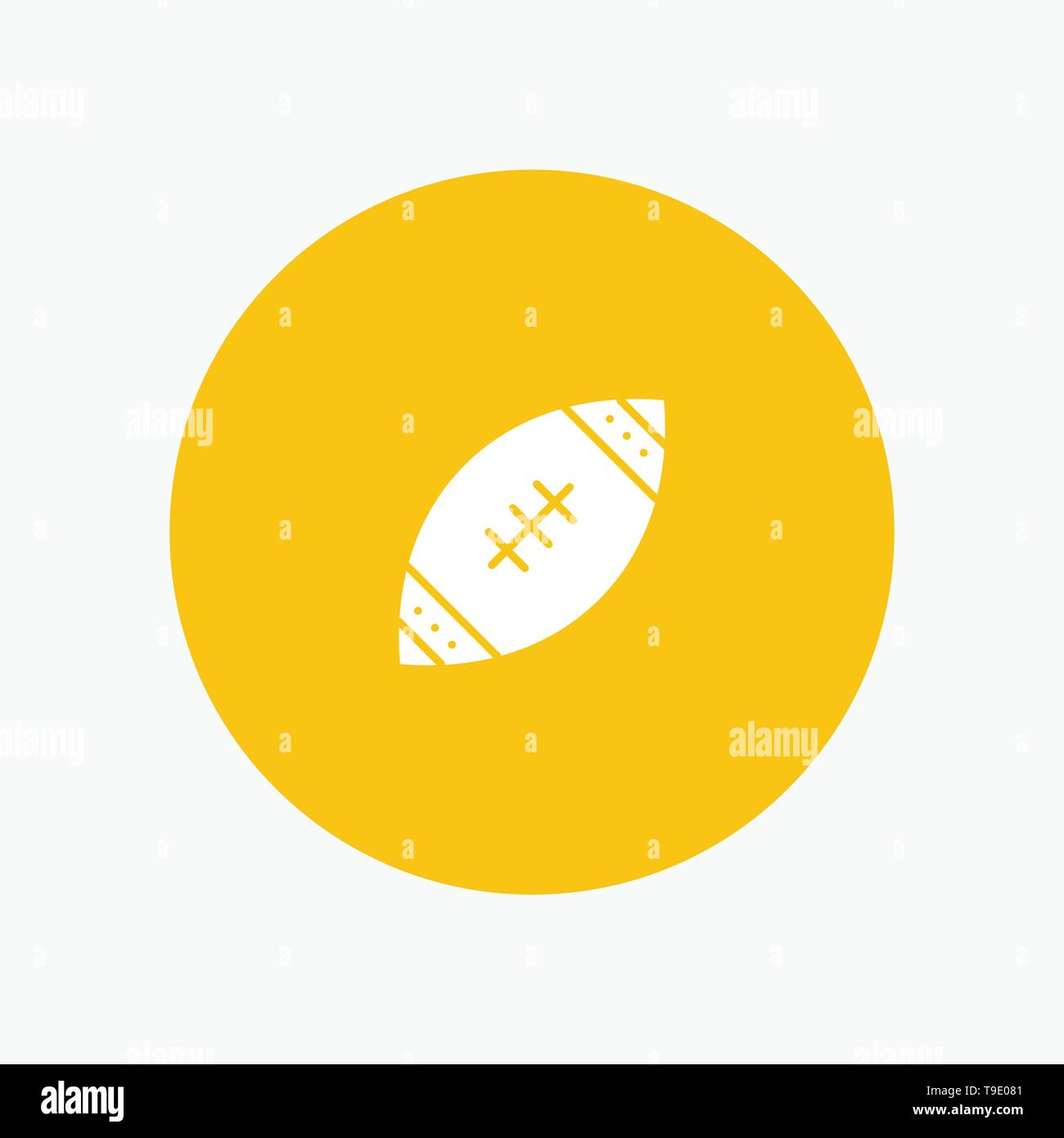 American, Ball, Football, Nfl, Rugby - Stock Image