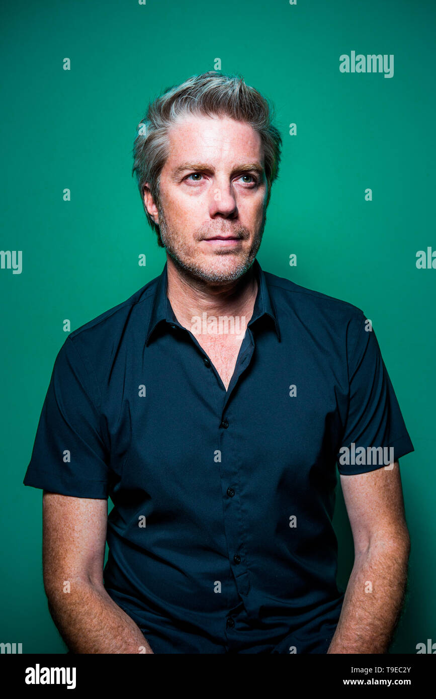 The jazz musician Kyle Eastwood portrayed during the Torino Jazz Festival on April 2019 in Turin, Italy. Credit: Alessandro Bosio - Stock Image