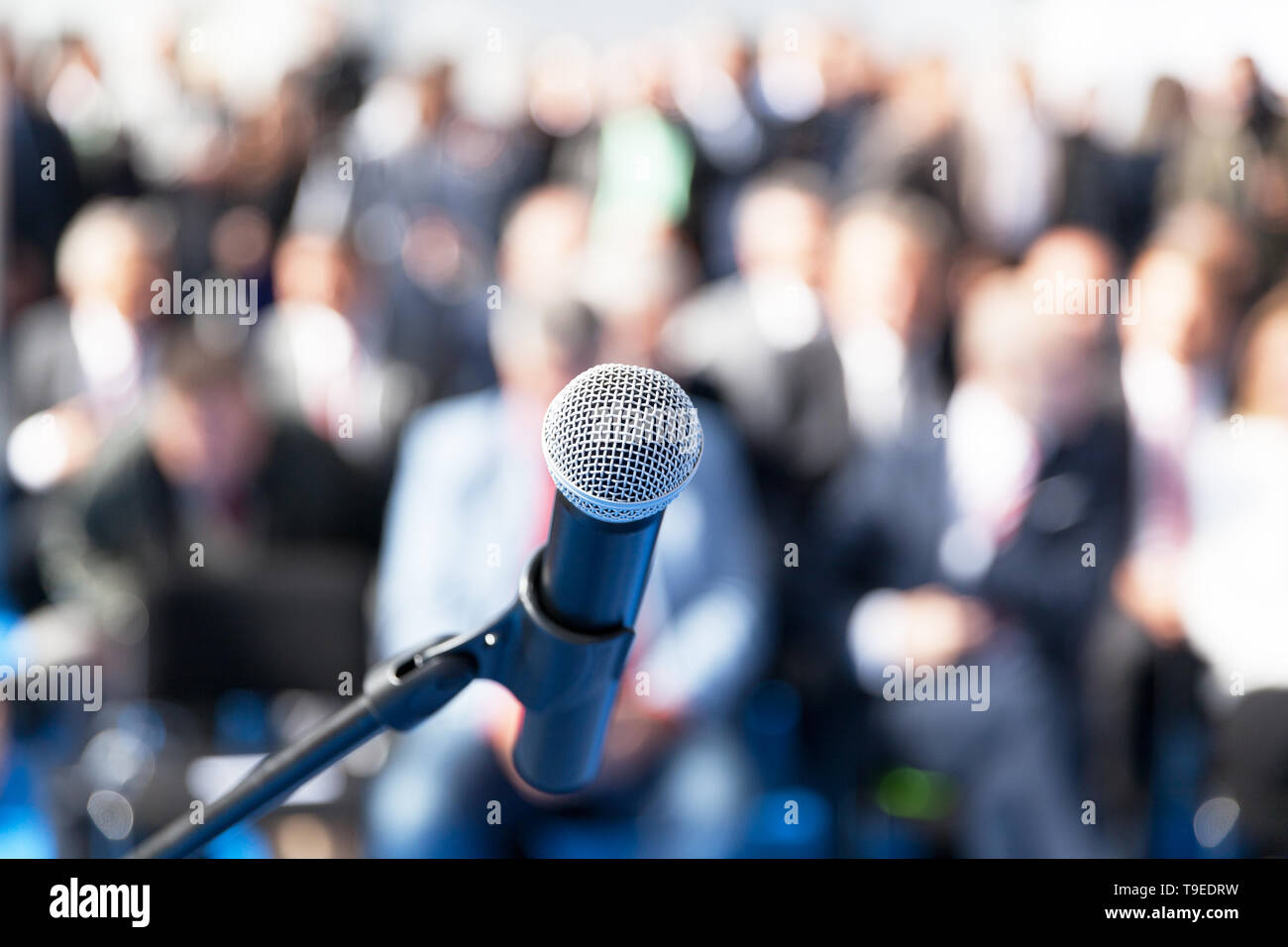 Business presentation or corporate conference - Stock Image