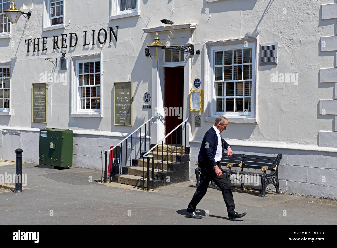 The Red Lion, Epworth,North Lincolnshire, England UK - Stock Image