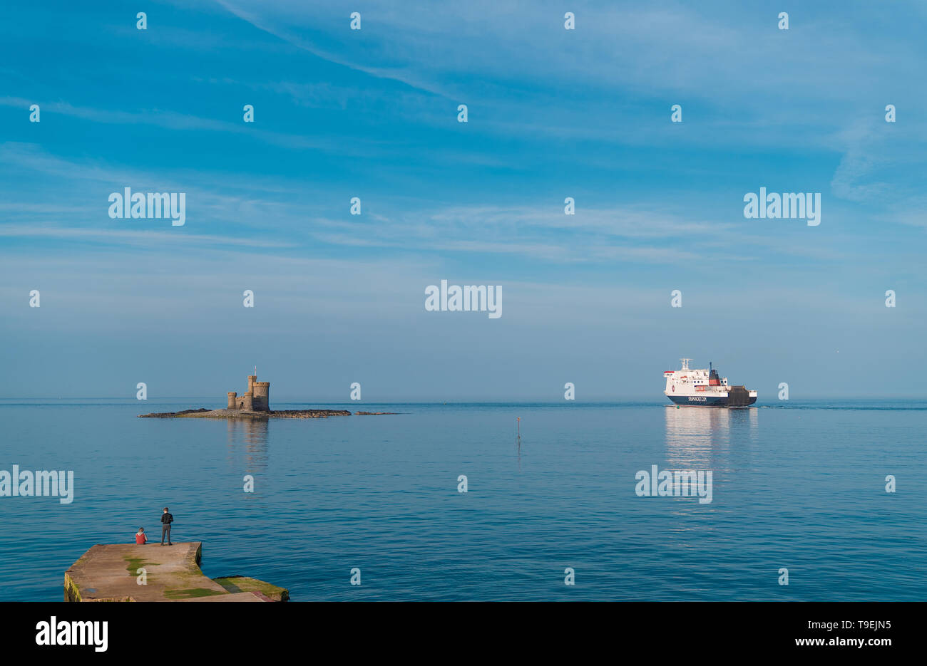 Isle of Man Stock Photo