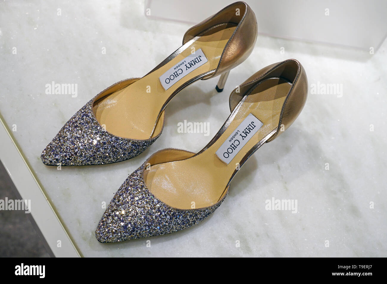 high heel luxury shoes