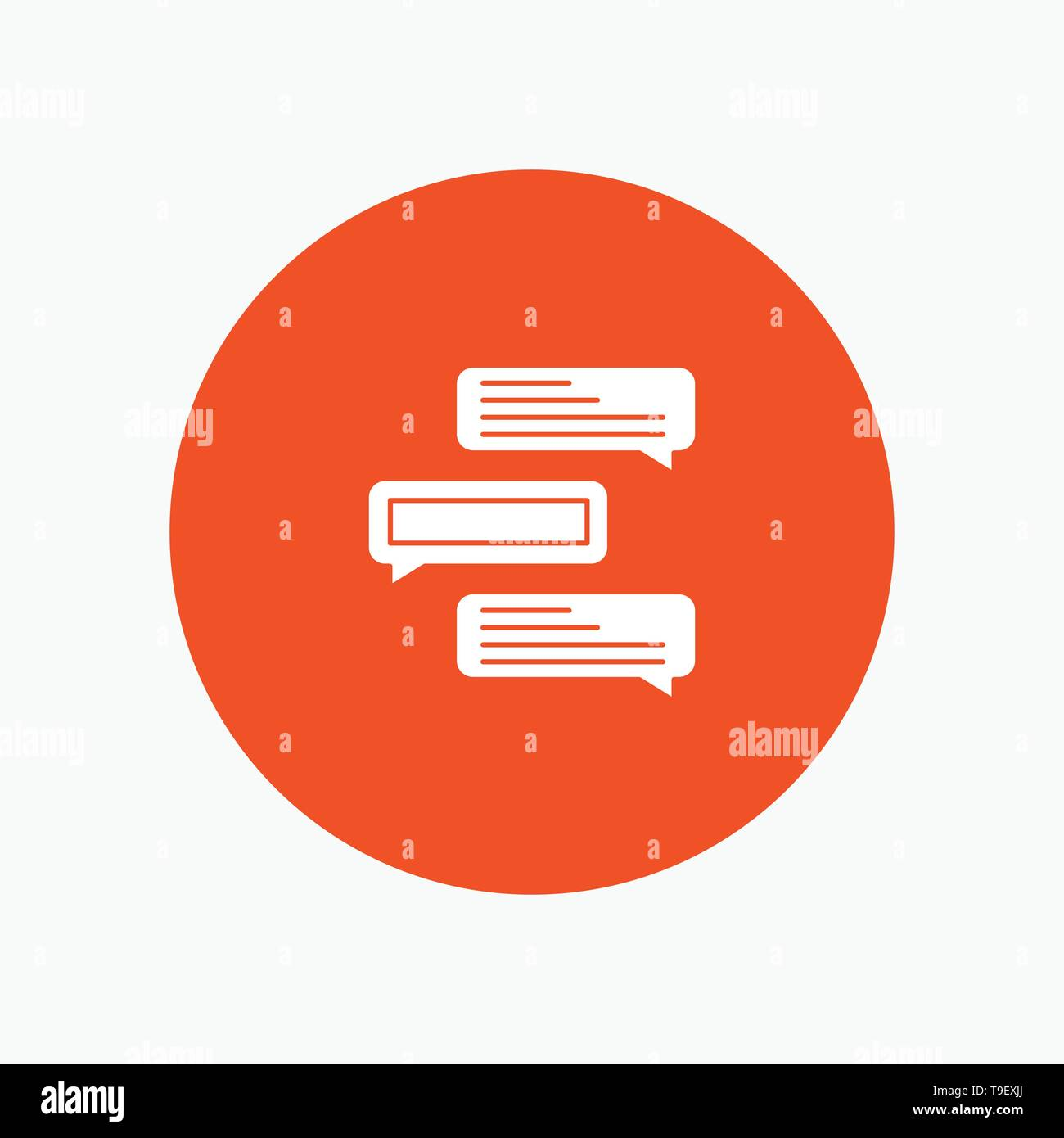 Chat, Bubbles, Comments, Conversations, Talks - Stock Vector