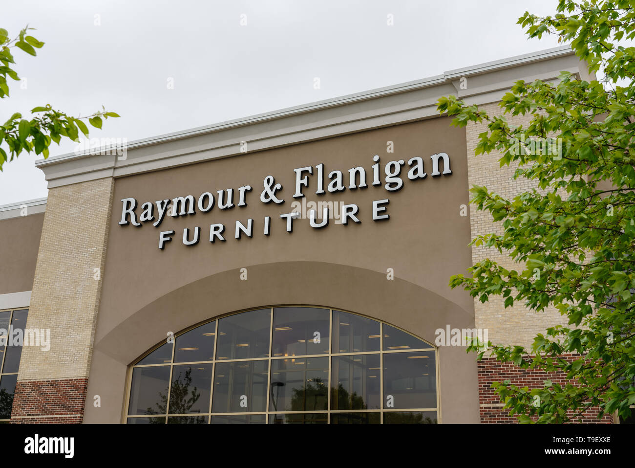Collegeville Pa May 9 2019 Raymour Flanigan Furniture Retail