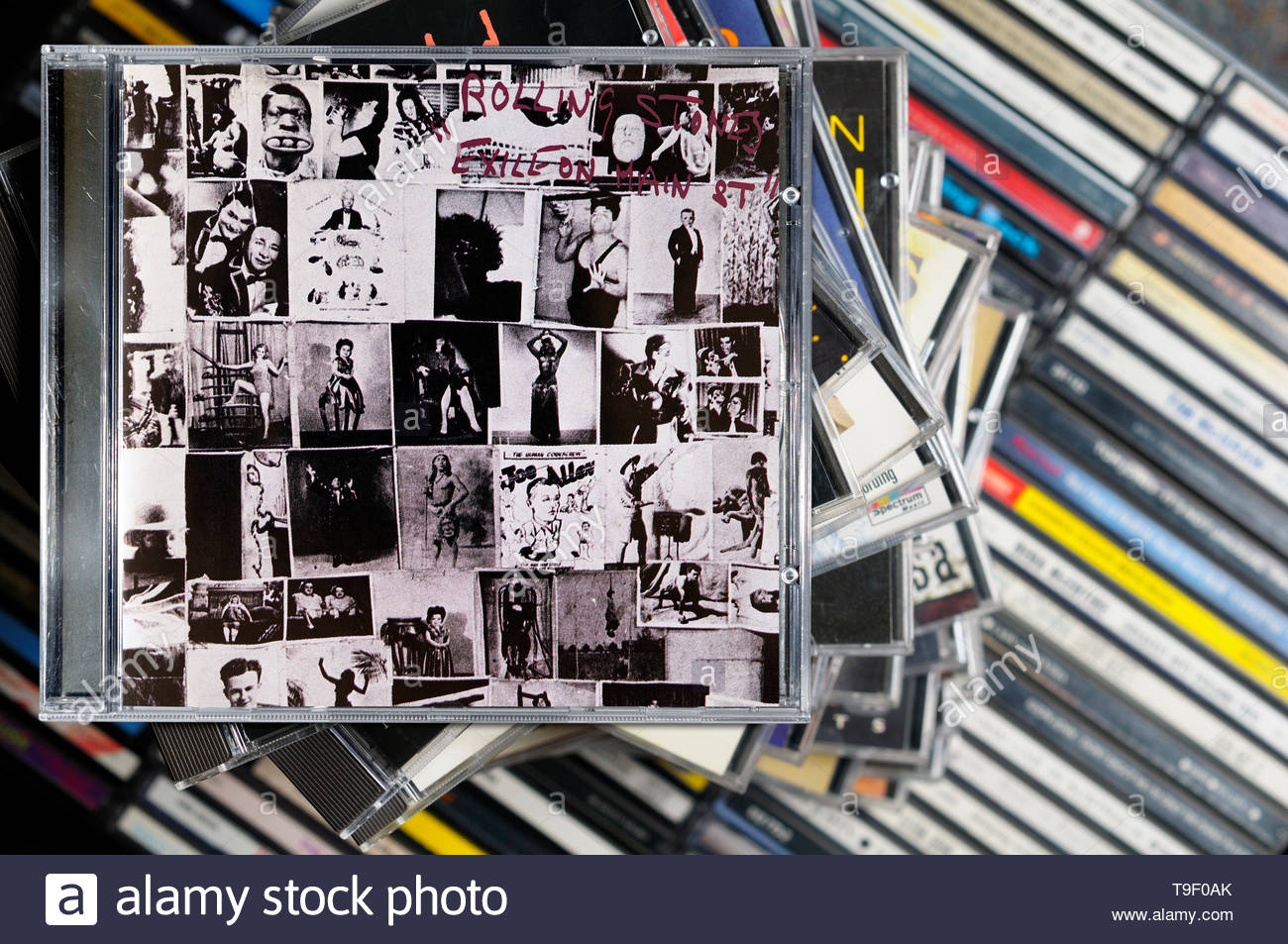 The Rolling Stones Album Cover Stock Photos & The Rolling Stones