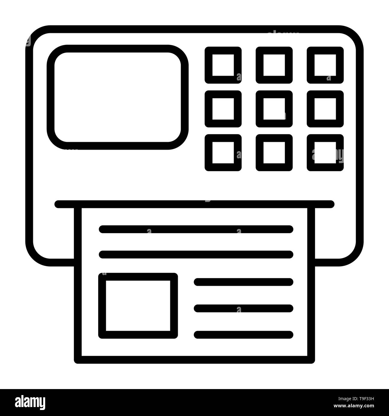 Fax Icon Vector Illustration Business Outline Stock Photo Alamy You can use our free online tool to generate css sprites. alamy