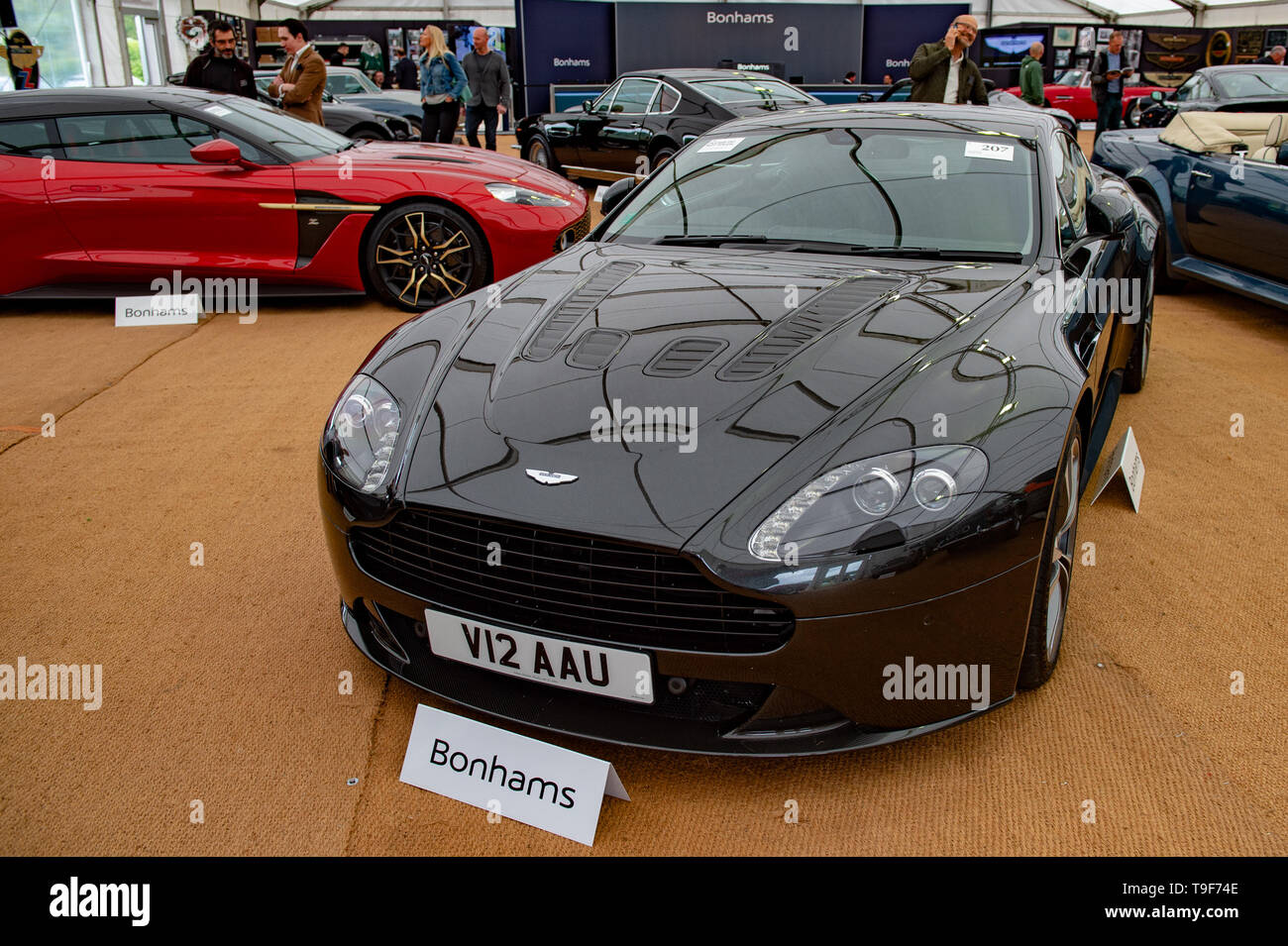 High Wycombe, United Kingdom  18 May 2019  Bonhams put Aston