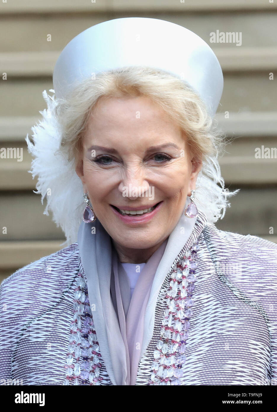 317e610b3 Princess Michael of Kent attends the wedding of Thomas Kingston and Lady  Gabriella Windsor at St