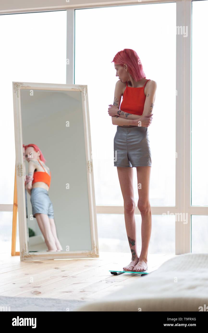 skinny modell magersuchtig