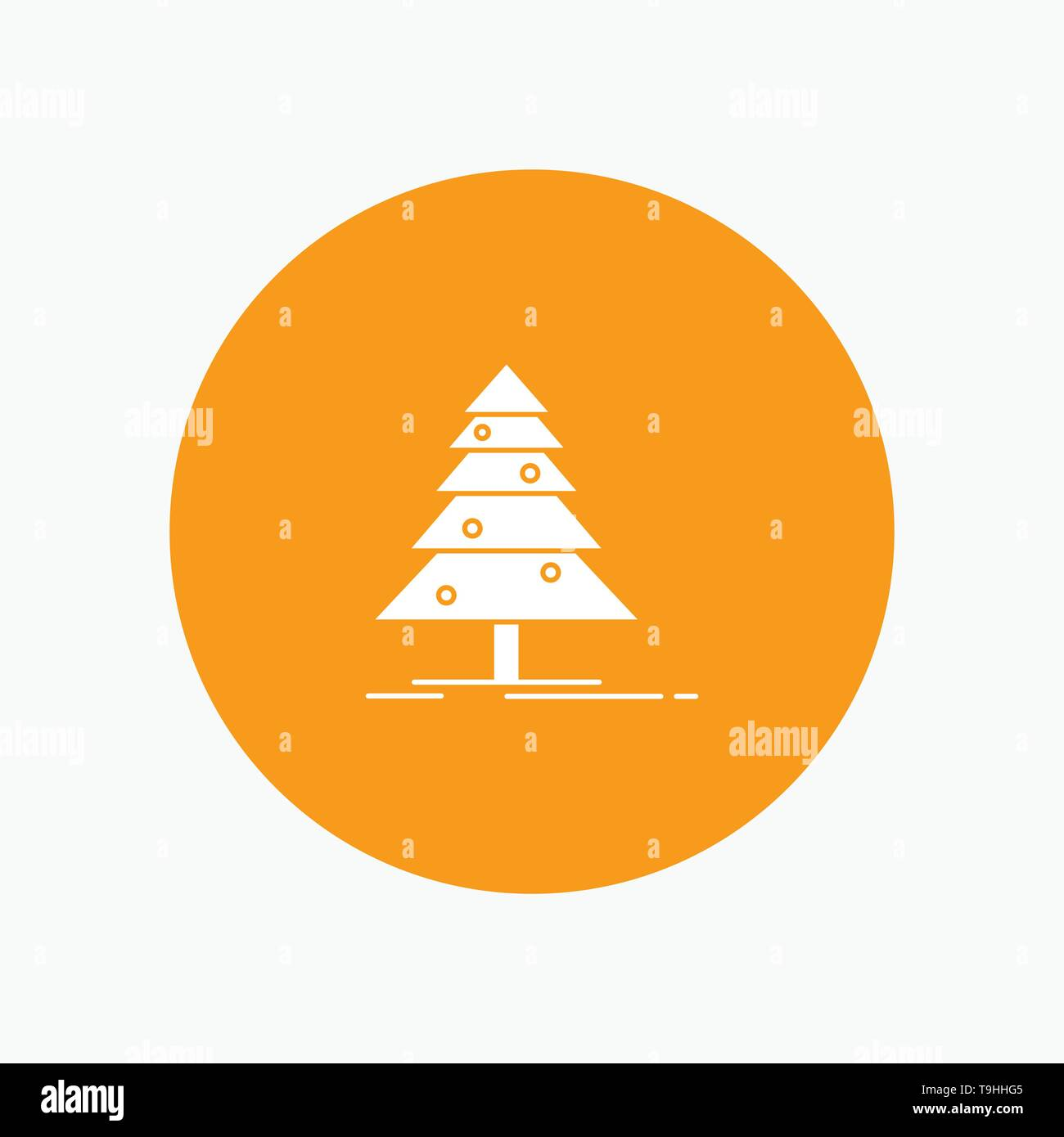 Tree, Forest, Christmas, XMas - Stock Image
