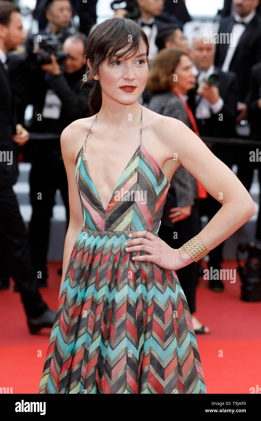 Anais Demoustier cannes, france. 19th may, 2019. anais demoustier attending