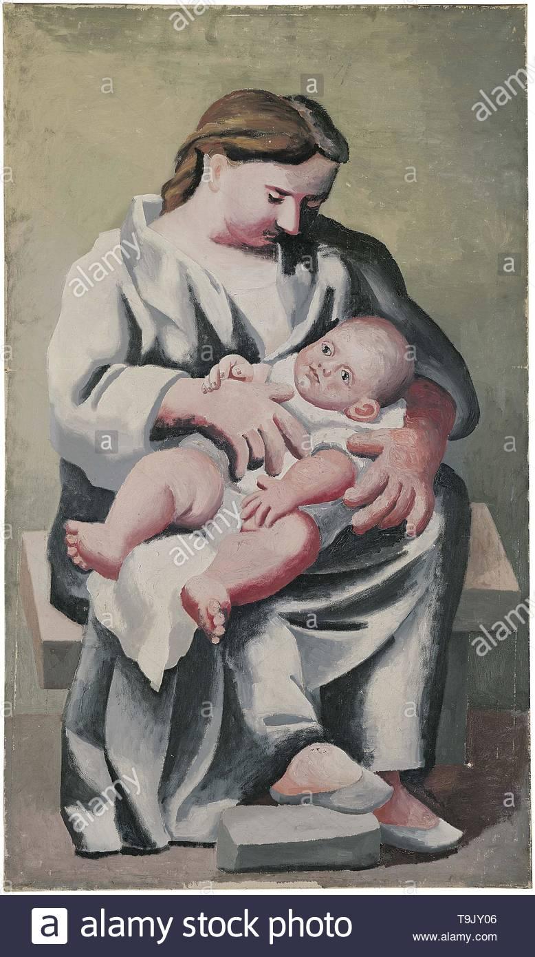 The Maternity. Museum: Fundación Almine y Bernard Ruiz-Picasso para el Arte (FABA), Madrid. - Stock Image