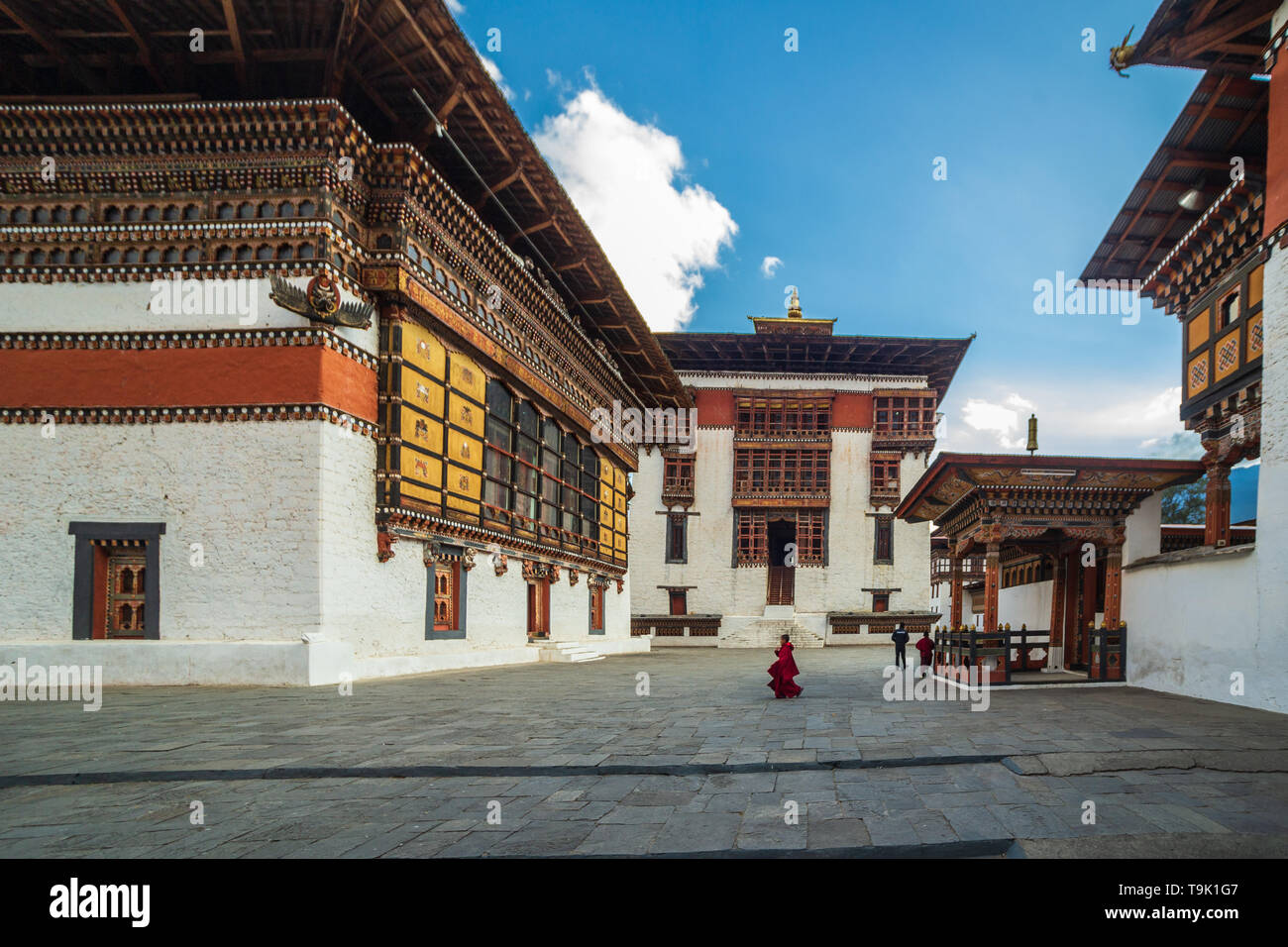 The monastry and fortress has been first built in 1641 - Stock Image