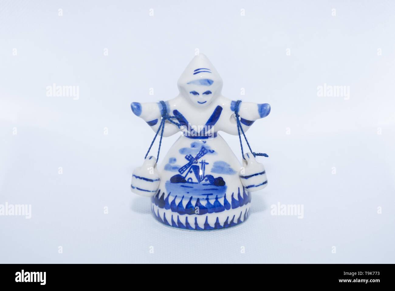 Pottery & Glass Pottery & China Precise Vintage Delft Blue Holland Dutch Tea Light Children Holding Hands