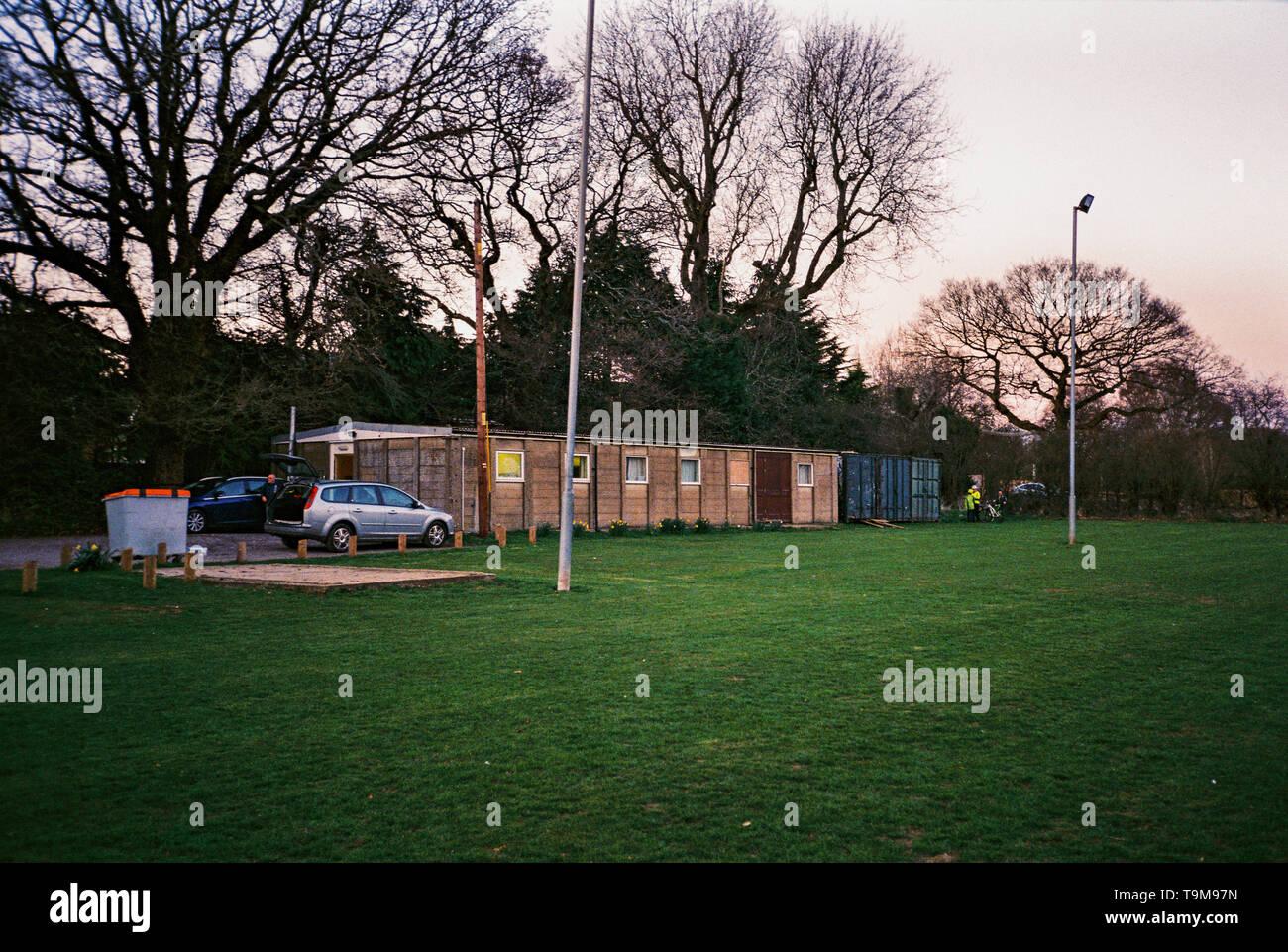 Four Marks scout hut, Four Marks, Alton, Hampshire, England, United Kingdom. - Stock Image