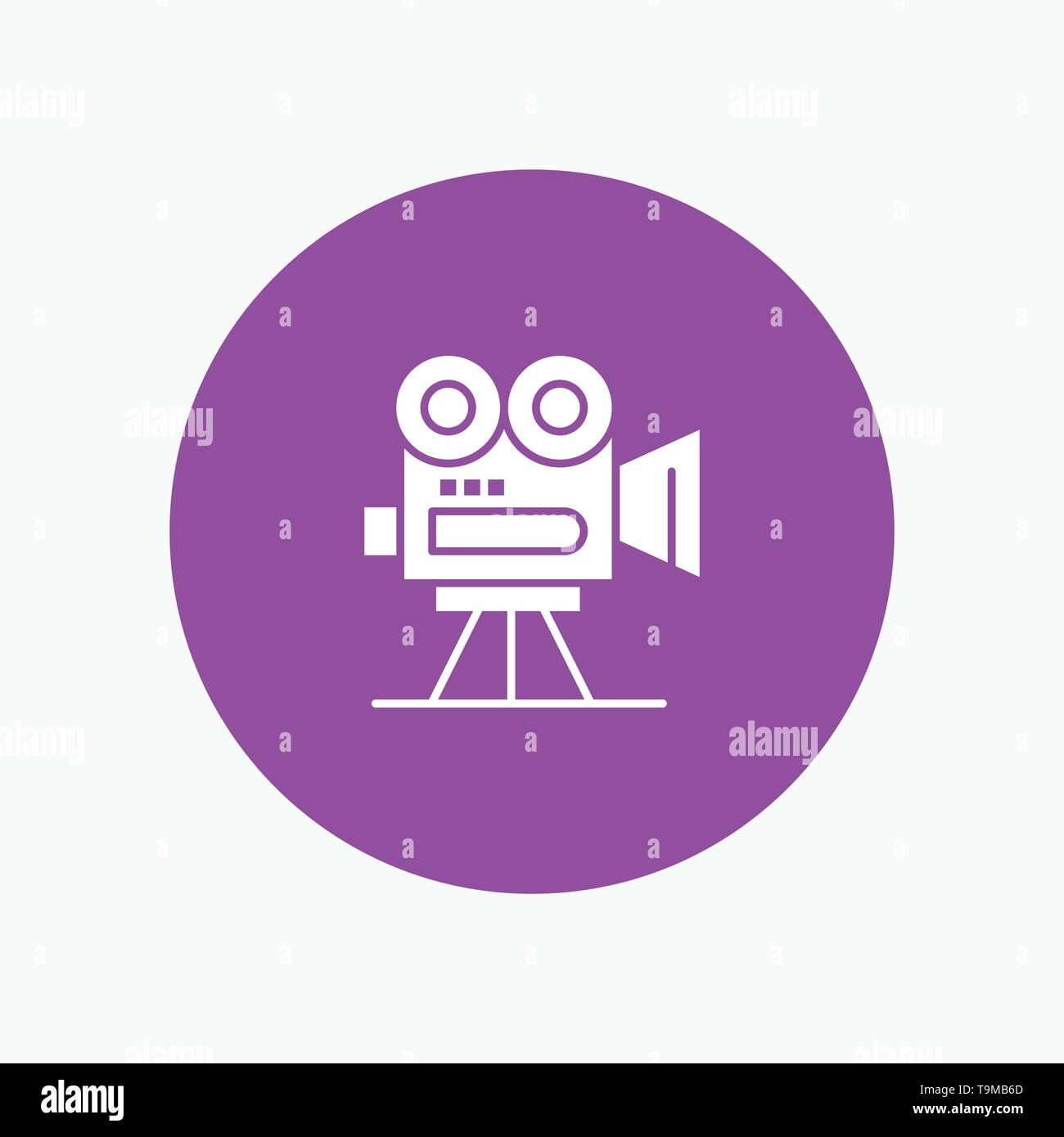Camera, Capture, Film, Movie, Professional - Stock Vector