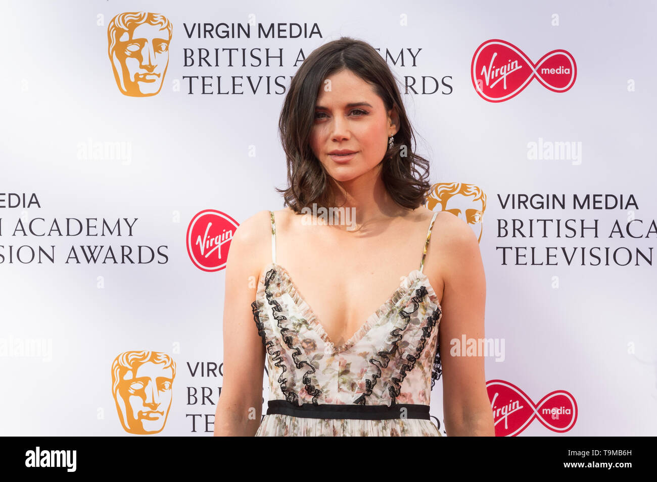 London, UK. 12th May 2019. Lilah Parsons attends the Virgin Media British Academy Television Awards ceremony at the Royal Festival Hall. Credit: Wiktor Szymanowicz/Alamy Live News - Stock Image