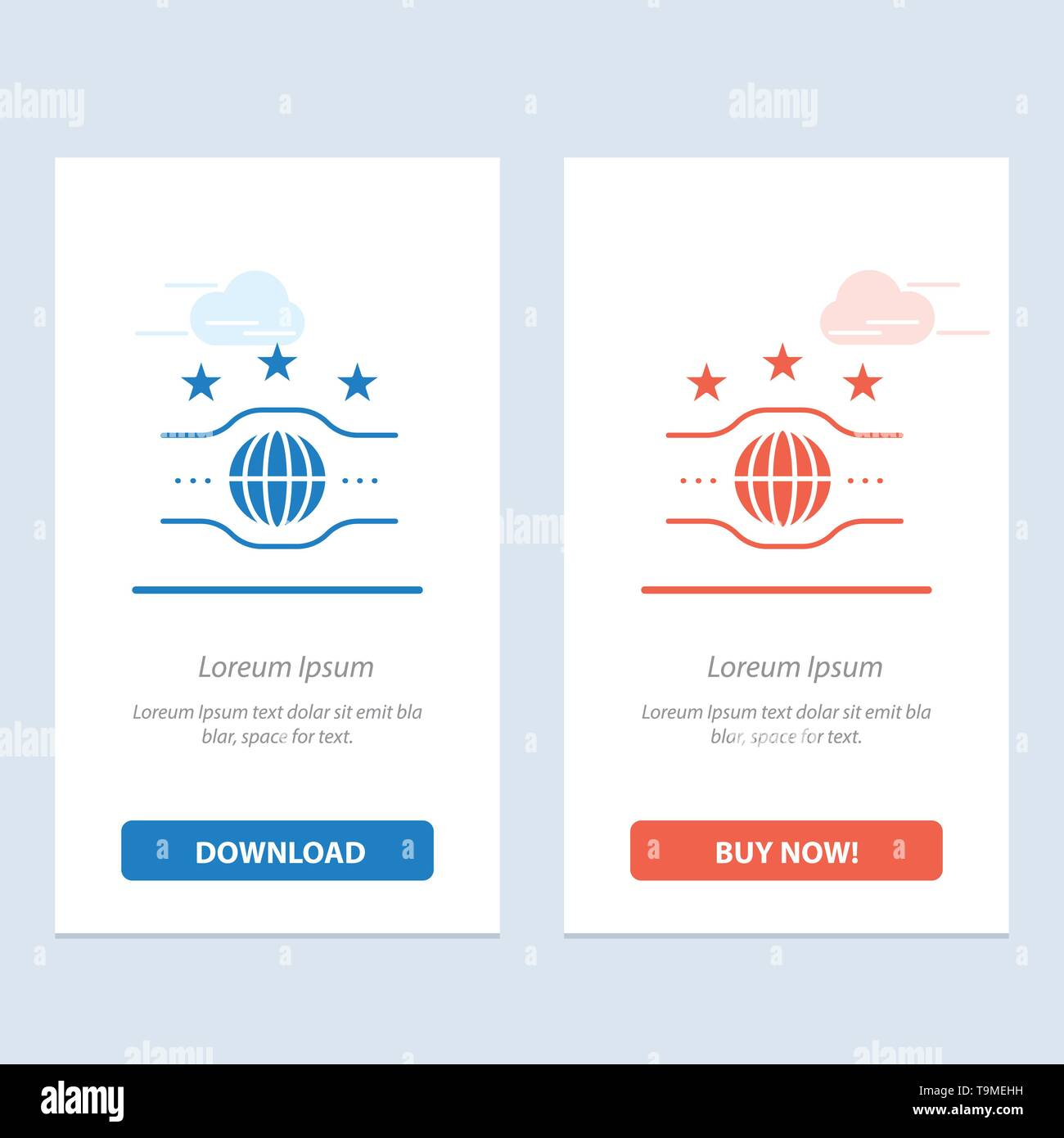 Belt, Champion, Championship, Sport  Blue and Red Download and Buy Now web Widget Card Template - Stock Image