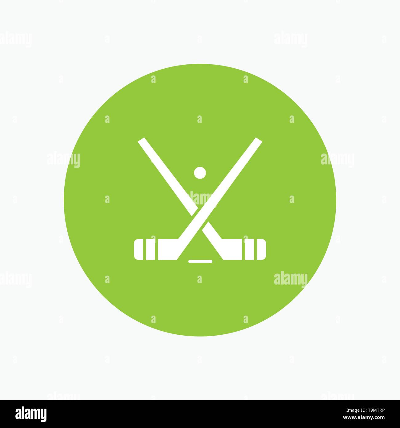 Emblem, Hockey, Ice, Stick, Sticks - Stock Image