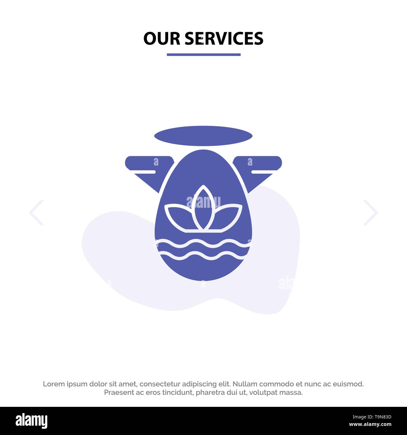 Our Services Angle, Celebration, Easter, Protractor Solid Glyph Icon Web card Template - Stock Image