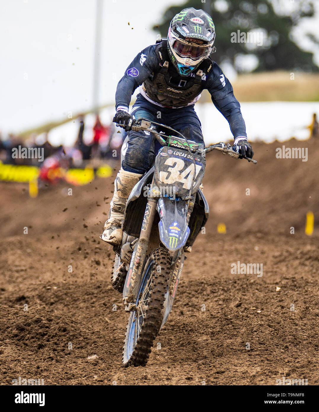Rancho Cordova, CA U S  18th May, 2019  A  : # 34 Dylan Ferrandis